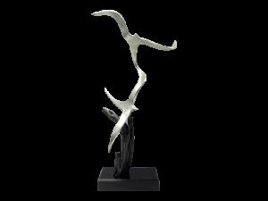 """""""Birds in Flight"""" sculpture by MK Shannon"""