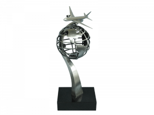 """""""Global Presence"""" sculpture by MK Shannon"""