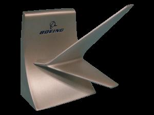 Pewter winglet cardholder