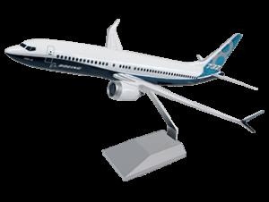 1/100 scale 737 MAX 8