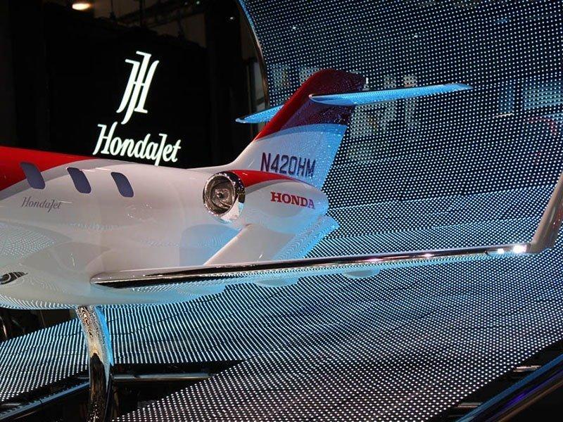 backend of HondaJet display model