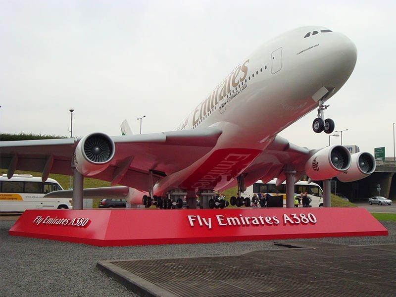3 Emirates A380 - 5