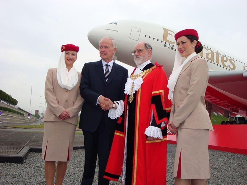 3 Emirates A380 - 7