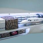 40 747-8F Cargolux Cutaway Interior2