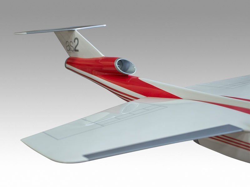 close up of Aerion model
