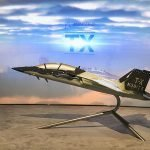 4 TX exhibit model for aviation trade show marketing