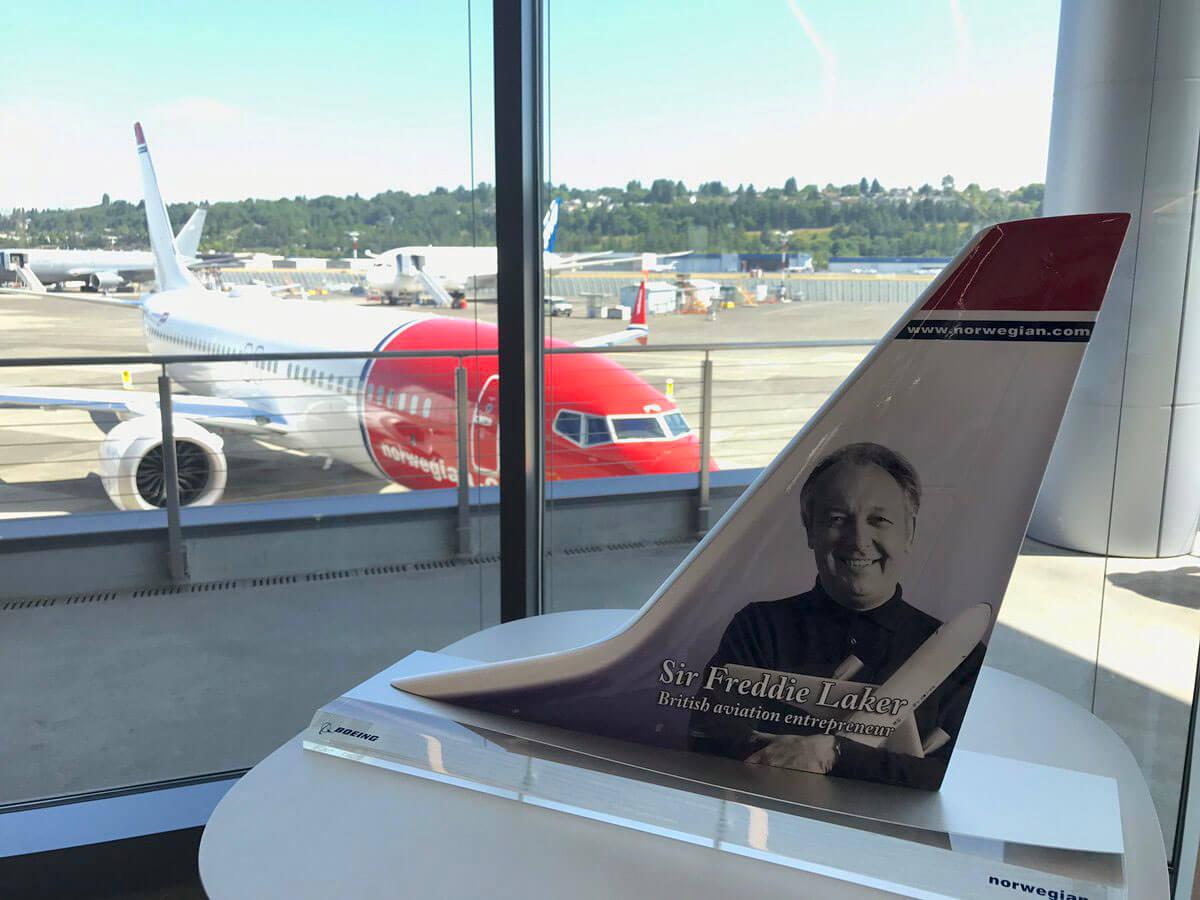 737Max Norwegian tail model