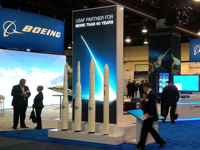 ASC16 Boeing booth