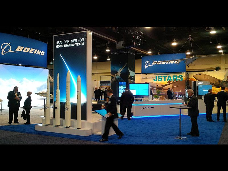 ASC16 Boeing booth panorama