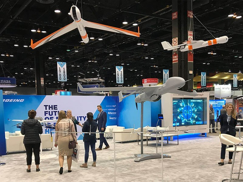 product launch solutions - Boeing Booth