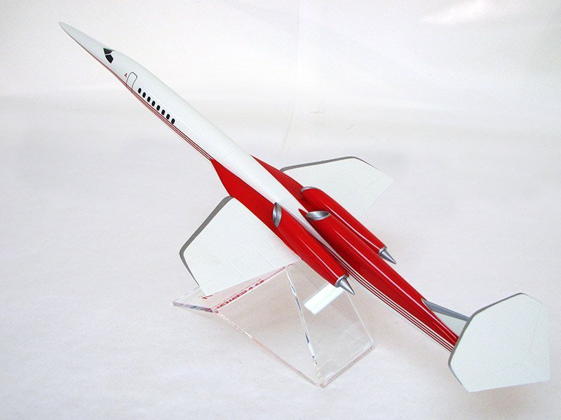 1/86 scale desktop model of Aerion's supersonic AS2 jet