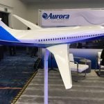 1/20 scale Aurora D8 exhibit model