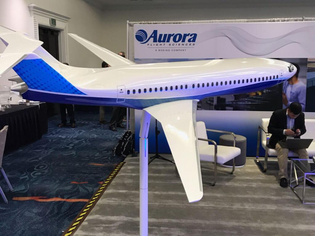 1/20 scale Aurora D8 exhibit model