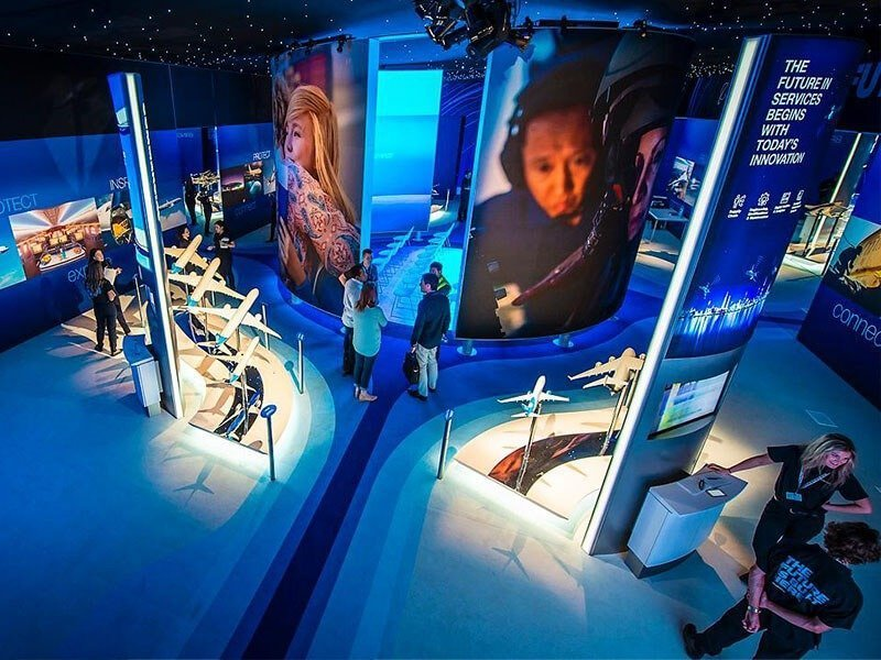 Boeing FIA booth
