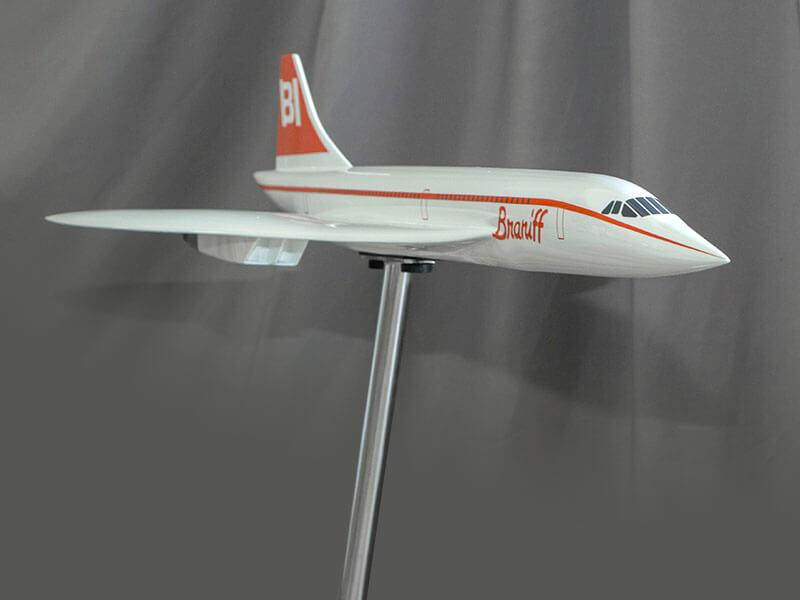 Braniff Concorde exhibit model