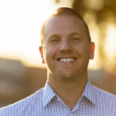 headshot of Brett Watts, Director of Business Development and Marketing