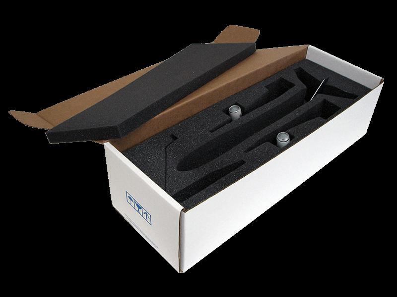 Standard packaging for PacMin Business Class desktop models