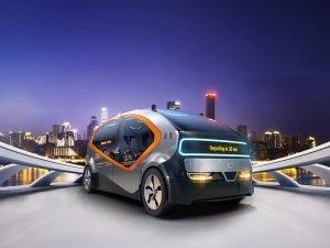 CGI Fisker electric car