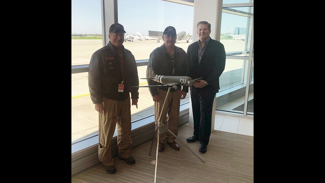 D-Day Doll crew with NetJets