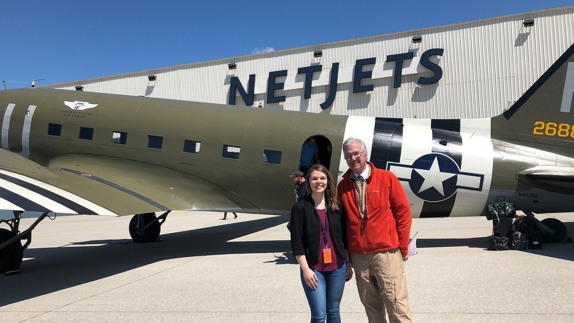D-Day Doll at NetJets