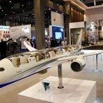 10' long 787 cutaway model