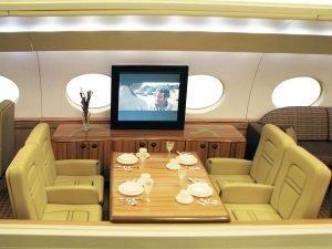 G650 Cutaway Interior