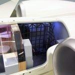 G650 Cutaway Interior Baggage