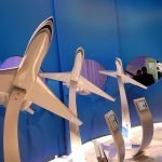 Gulfstream exhibit models at NBAA
