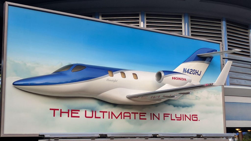 HondaJet Billboard