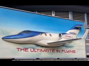 HondaJet 3D billboard
