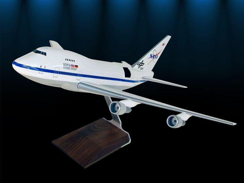 NASA SOFIA aircraft model