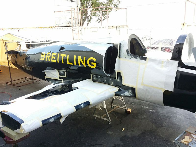 Reno Air Races prep work