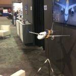 Embraer E-Jet E2 exhibit model
