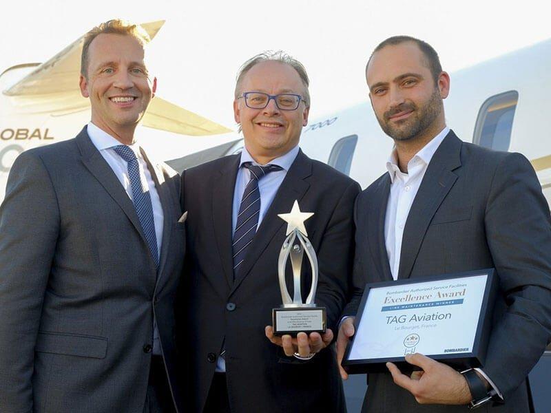 NBAA 2017 Bombardier United Award 4