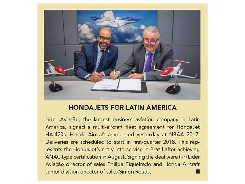 HondaJets for Latin America