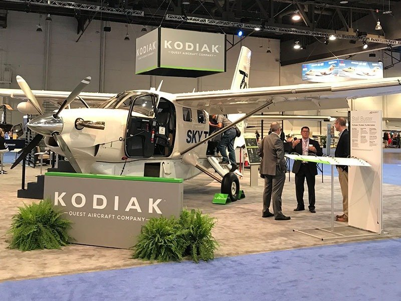 Kodiak exhibit at NBAA 2017
