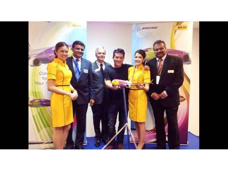 NokAir Singapore Airshow 2014