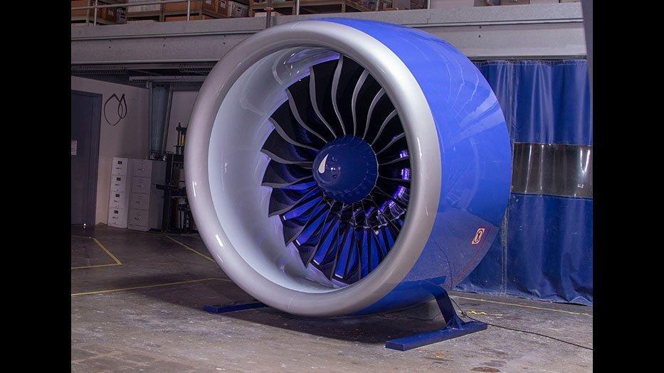 full size engine mock-up