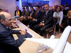 Boeing and Qatar announced a $4.8billion order on the opening day of the Paris Air Show. // Photo courtesy of Qatar
