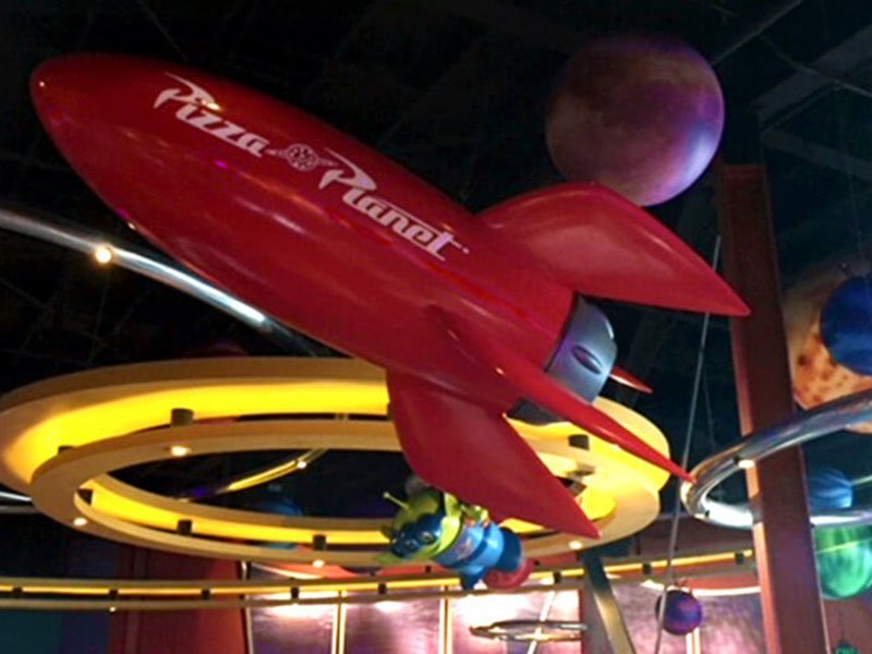 Pizza Planet Rocket