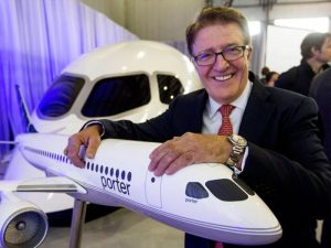 Robert Deluce, President and CEO of Porter Airlines