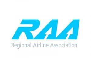 Regional Airline Association (RAA) logo