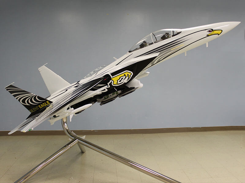 SilentEagle model sideview