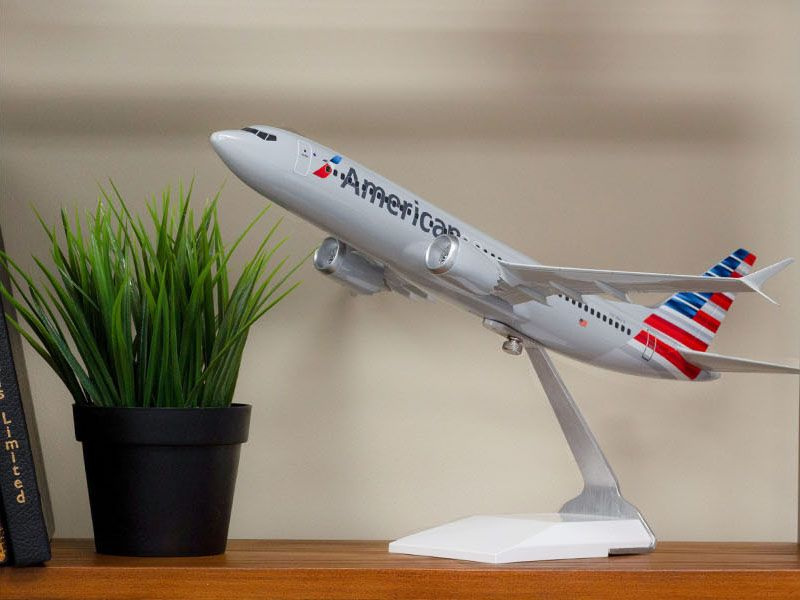 American Airlines desktop model from The Model Shop