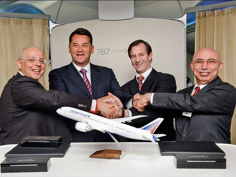 Transaero Boeing Deal