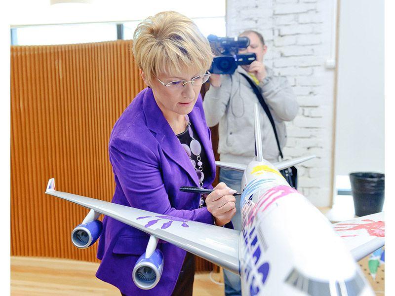 TransAero Flight of Hope 4
