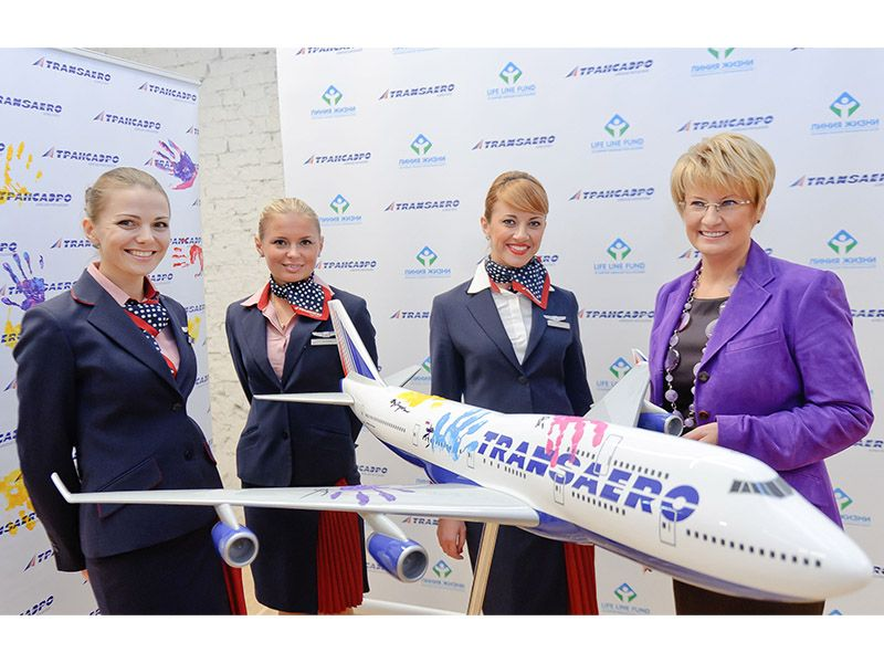 TransAero Flight of Hope 5