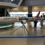 Turkish Airlines aviation model