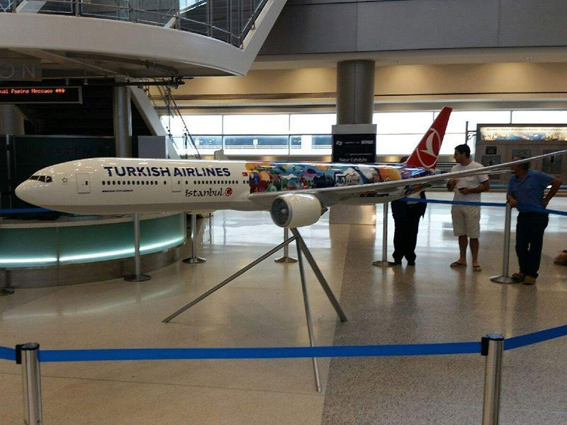 Turkish Airlines aviation model