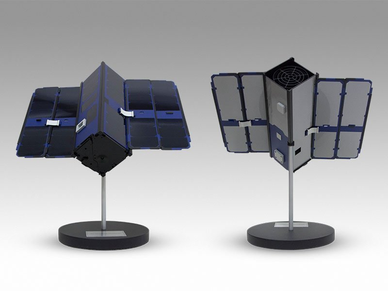 full size satellite model